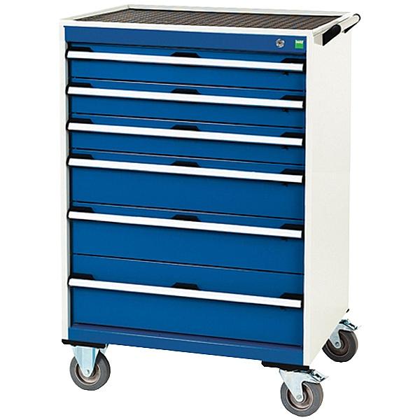 Bott Cubio Mobile Drawer Cabinets - 800mm Wide x 1080mm High - Model D