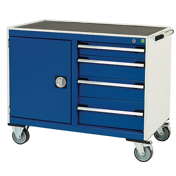 Bott Cubio Mobile Drawer Cabinets - 1050mm Wide - Model B