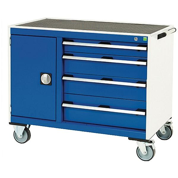 Bott Cubio Mobile Drawer Cabinets - 1050mm Wide - Model D