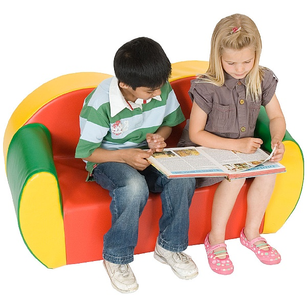 Block Colour Childrens Sofas