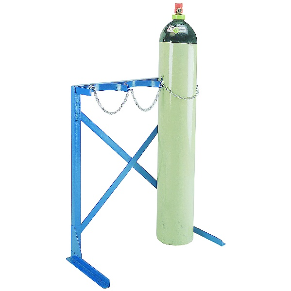 Single Sided Floor Fixed Cylinder Rack