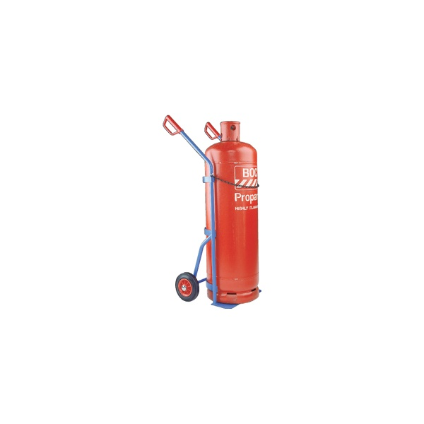 Tall Propane and Calor Cylinder Truck - Twin Handle