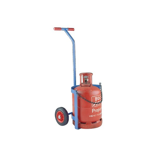 Short Propane and Calor Cylinder Truck - T-bar Handle