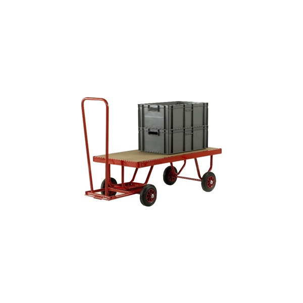 Small Trader Turntable Truck