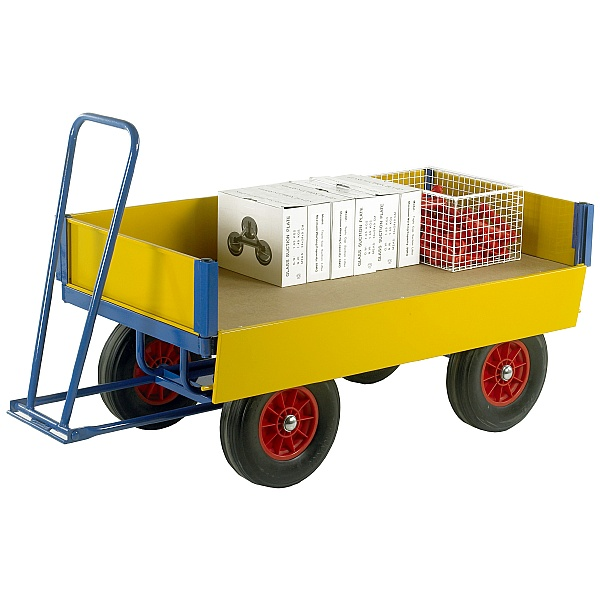 Large Turntable Truck with Drop Down Side Panels