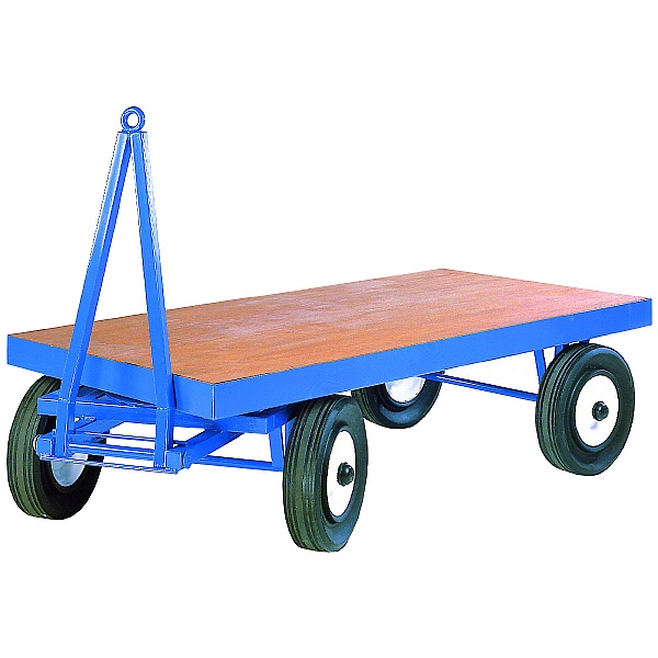 Heavy Duty Turntable Towing Trailer