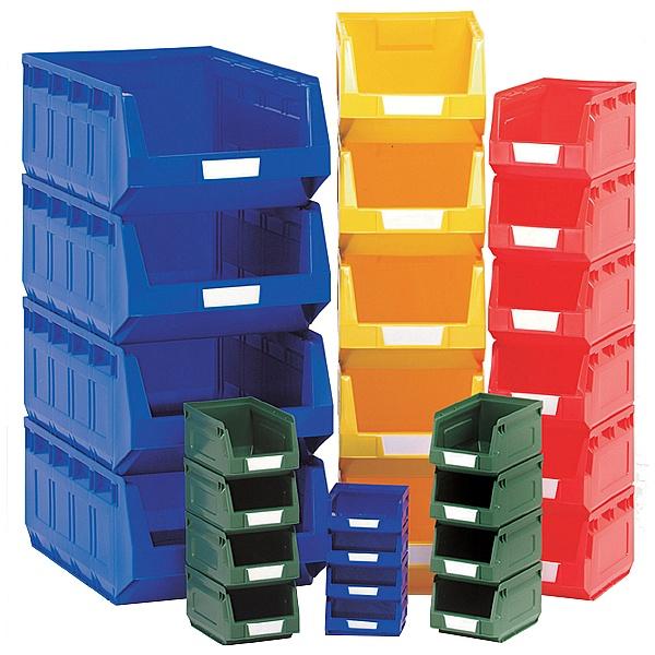 Bott Perfo Louvred Panel Plastic Bin Kit B