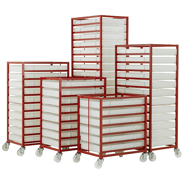 Food Grade Mobile Tray Rack