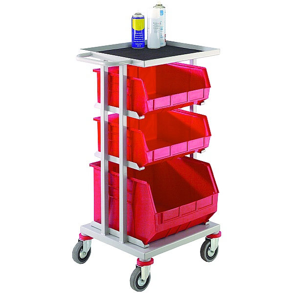 Store and Distribution Trolley with Surface