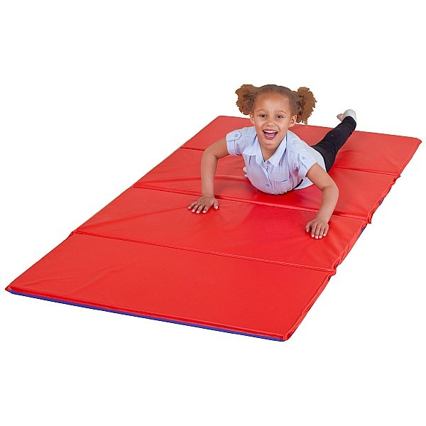 4 Section Folding Tumble Mat (Pack Of 5)