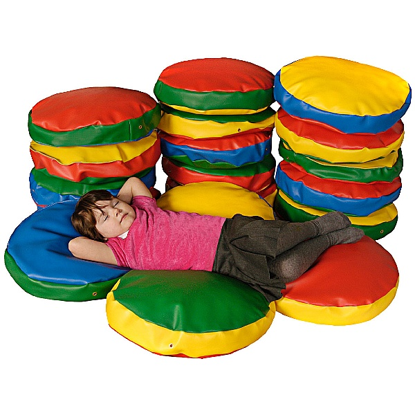 Round Story Cushions (Pack Of 10)