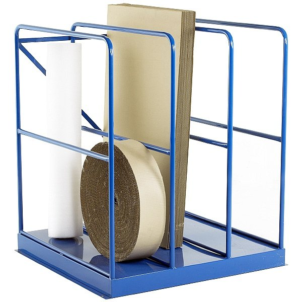 Full-Height Sheet Rack Stocked