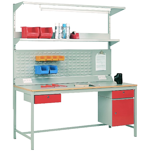 Redditek 456 Traditional 4-Leg Workbench Bundle Deal