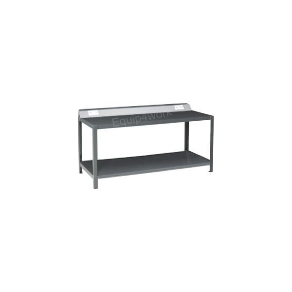 Redditek Extra Heavy Duty Electrical Engineering Workbench with Shelf and Lip