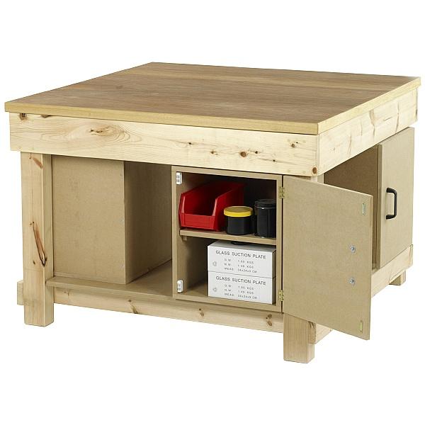 Redditek Square Timber Workbench - Ply