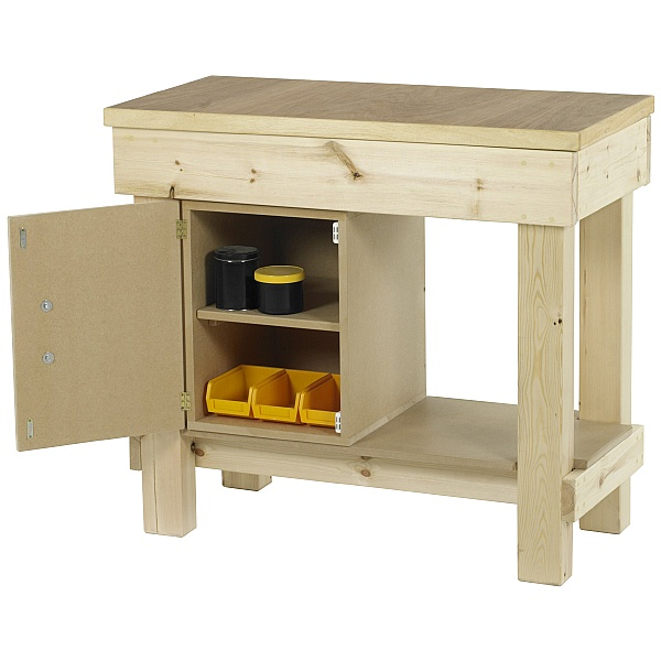 Redditek Timber Garage Workbench