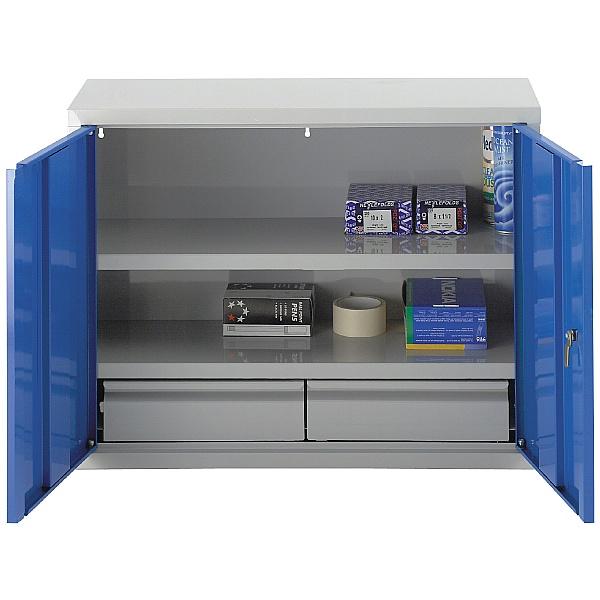 Redditek Wall Cabinet with Drawers