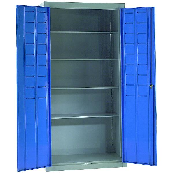 Redditek Empty All Shelf Supported Bin Cabinet