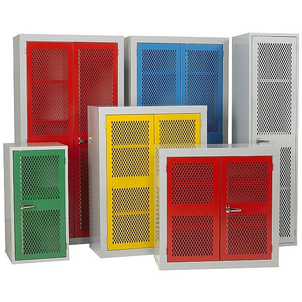 Redditek Mesh Door Cabinet