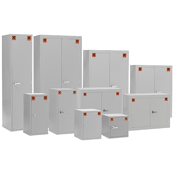Redditek COSHH Light Grey Hazardous Material Cabinet