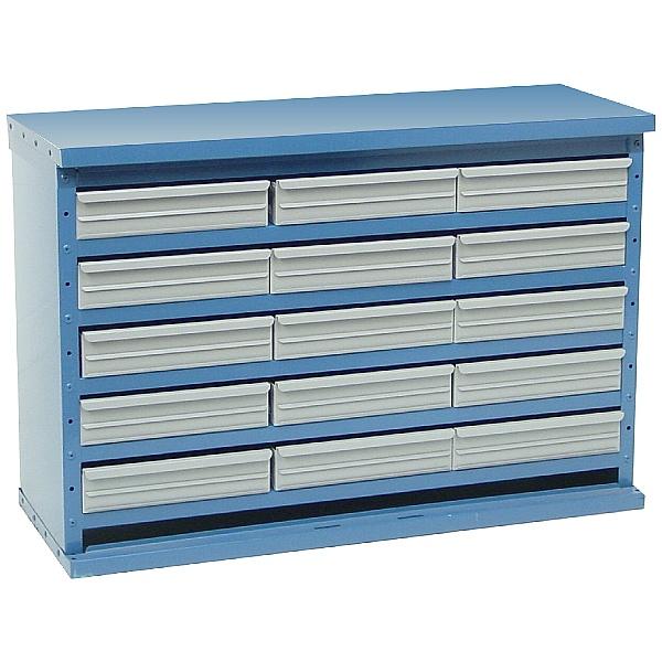 Redditek 'D' Series Open Wide 15 Drawer Cabinet