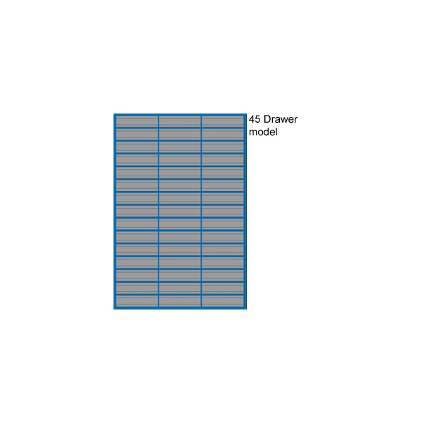 Redditek 'D' Series Standard Wide Drawer Cabinet