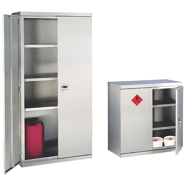 Stainless Steel Hazardous Cabinets