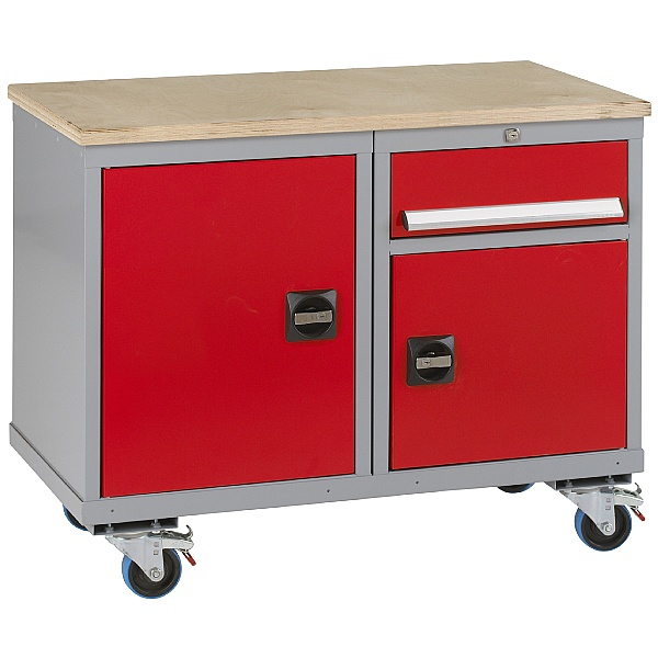 Premier Trolleys 2 Cupboards 1 Drawer