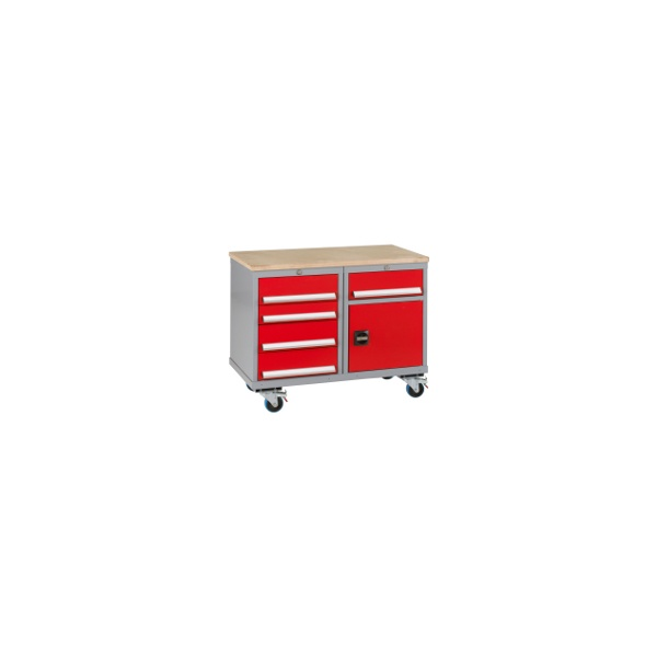 Premier Trolleys 1 Cupboard 5 Drawers