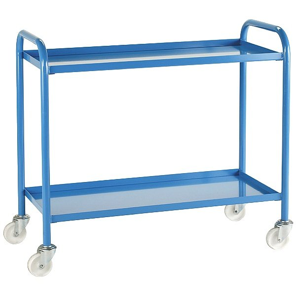 Steel 2 Shelf  Trolley