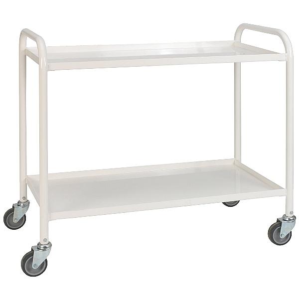 2 Shelf Medical Trolley