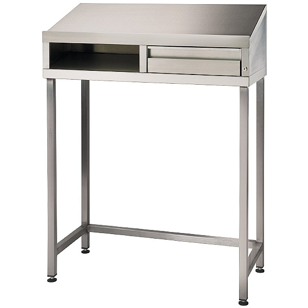 Stainless Steel Desk unit
