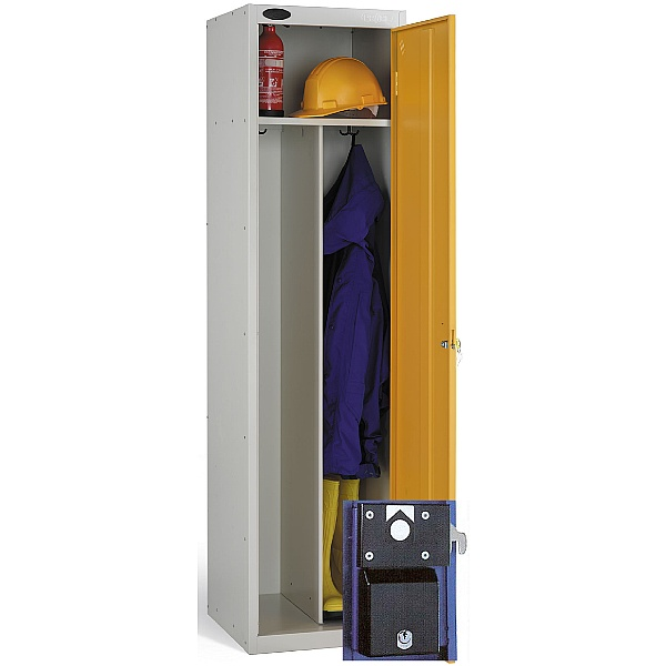 Clean & Dirty Coin Retain Lockers With ActiveCoat