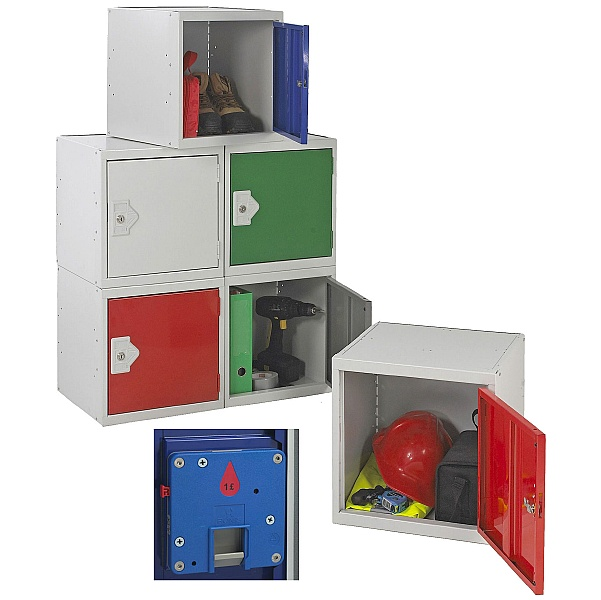 Cube Coin Return Lockers With BioCote