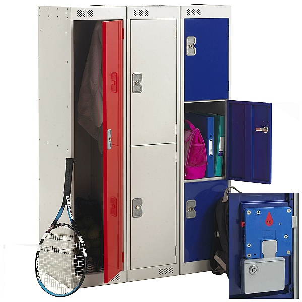 Primary Coin Retain Lockers With Biocote