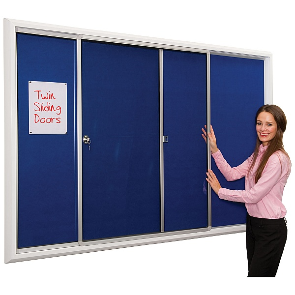 Safety Locking Noticeboards
