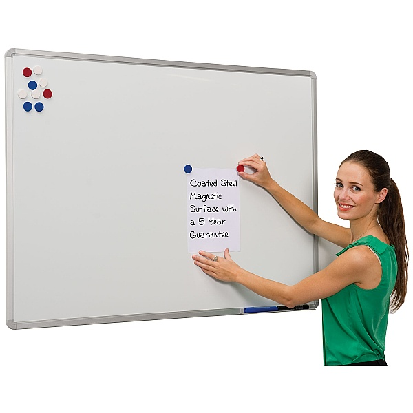Ultralon Vitreous Enamel Steel (VES) Projection Whiteboards