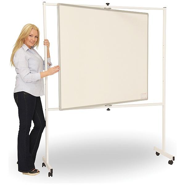 Ultralon Mobile Non-Magnetic Pivoted Whiteboard