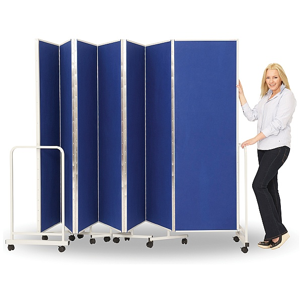 Insta-Wall Sound Absorbing Wall on Wheels