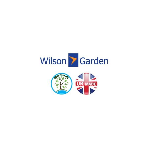 Wilson & Garden ECO Friendly 3 Section Wallfixed Rollerboards - 2505W x 2275H