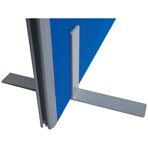 T Foot Plate for Space Dividers 30mm Partitions