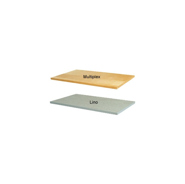 Bott Cubio Framework Benches - Bench With Full Depth Shelf