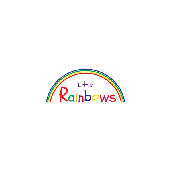 Little Rainbows Non Magnetic Desktop Whiteboard Easel