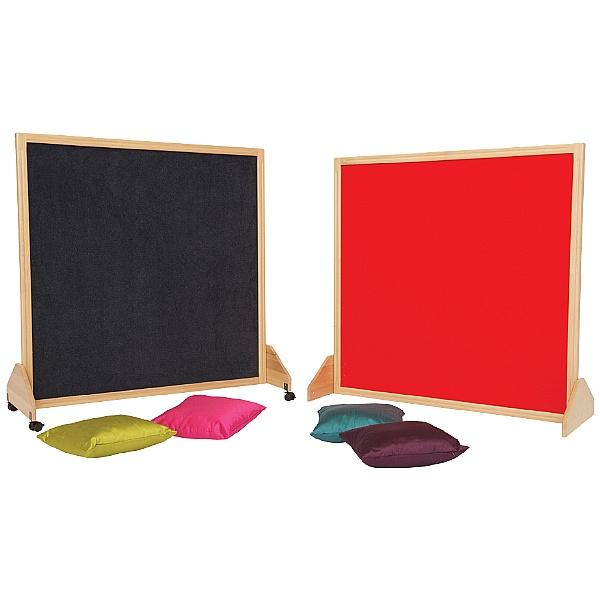 Little Acorns Solid Wood Framed Partition Screens