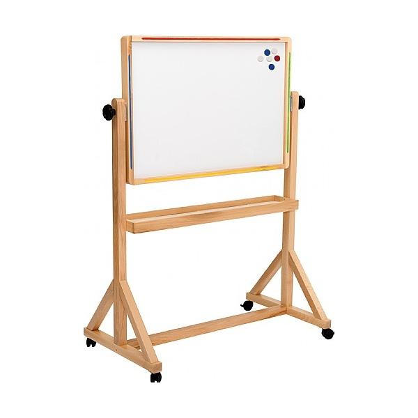 Little Acorns Tilt 'N' Teach Mobile Whiteboard / Chalkboards