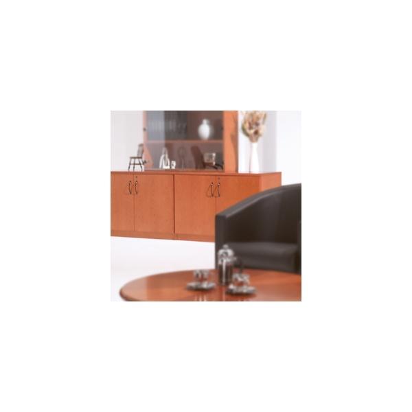 Corniche Desk High Double Door Cupboard