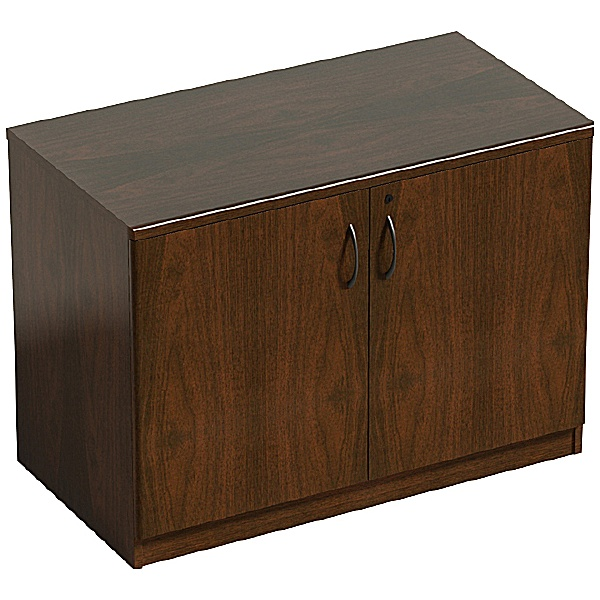 Corniche Desk High Two Door System Storage Cupboard