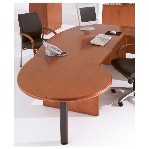 Corniche Teardrop Desk End Meeting Tables