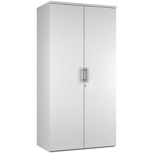 Reflections White Double Door Cupboards