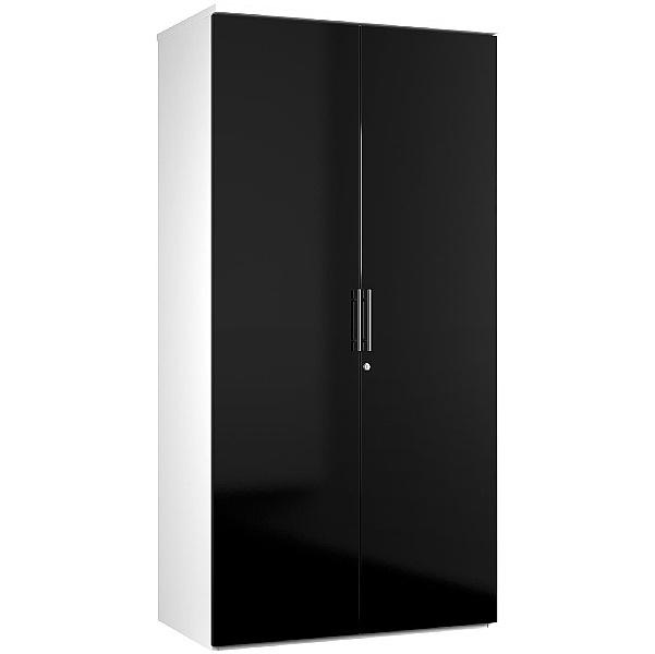 Reflections Black Double Door Cupboards
